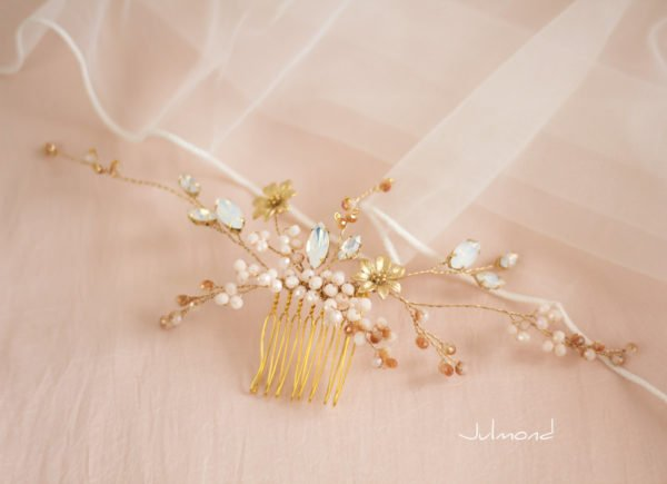 Amaia Haarschmuck Rosegold Hochzeit-04