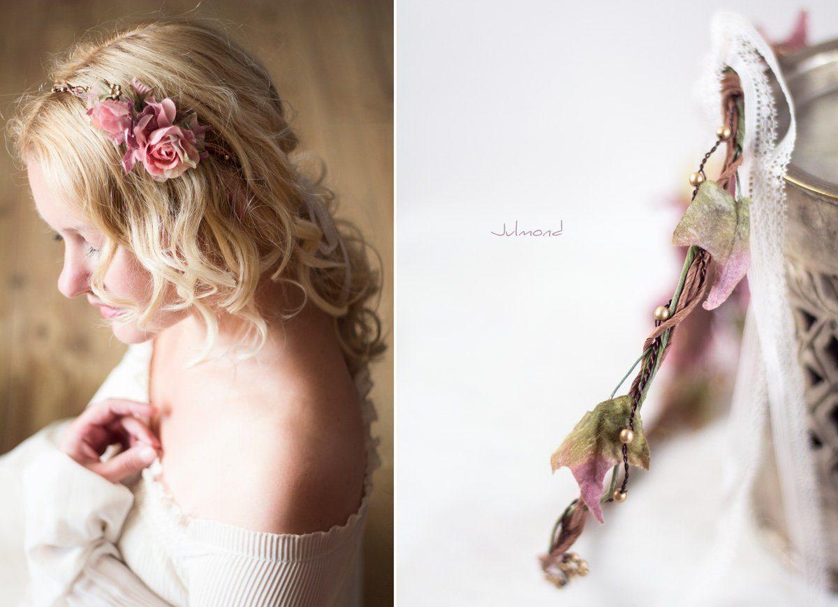 Bahia Haarband Blumen Hochzeit Vintage-01