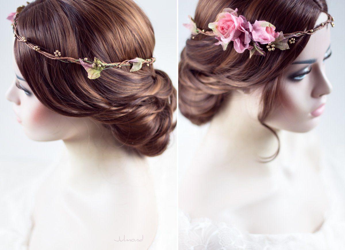 Bahia Haarband Blumen Hochzeit Vintage-02