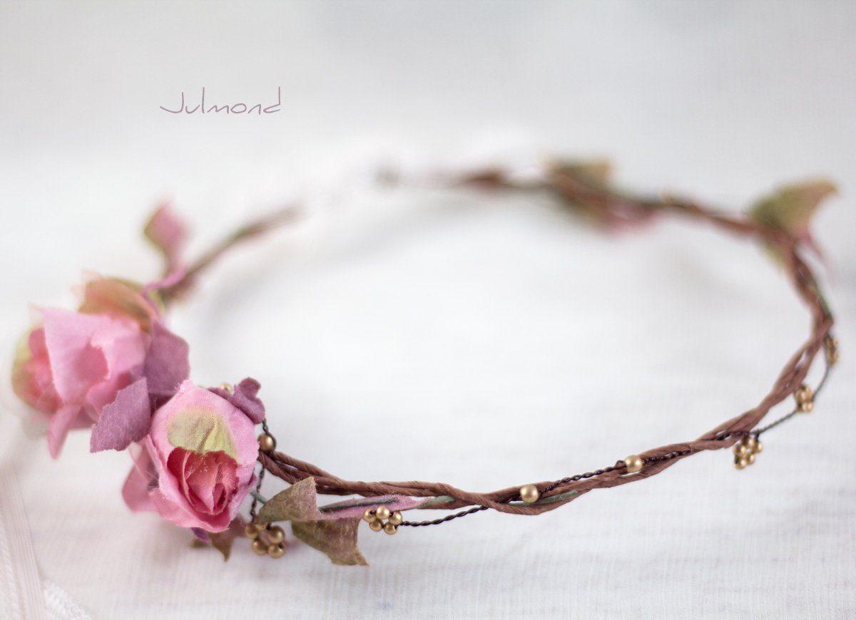 Bahia Haarband Blumen Hochzeit Vintage-03