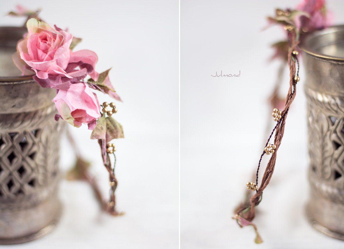 Bahia Haarband Blumen Hochzeit Vintage-04