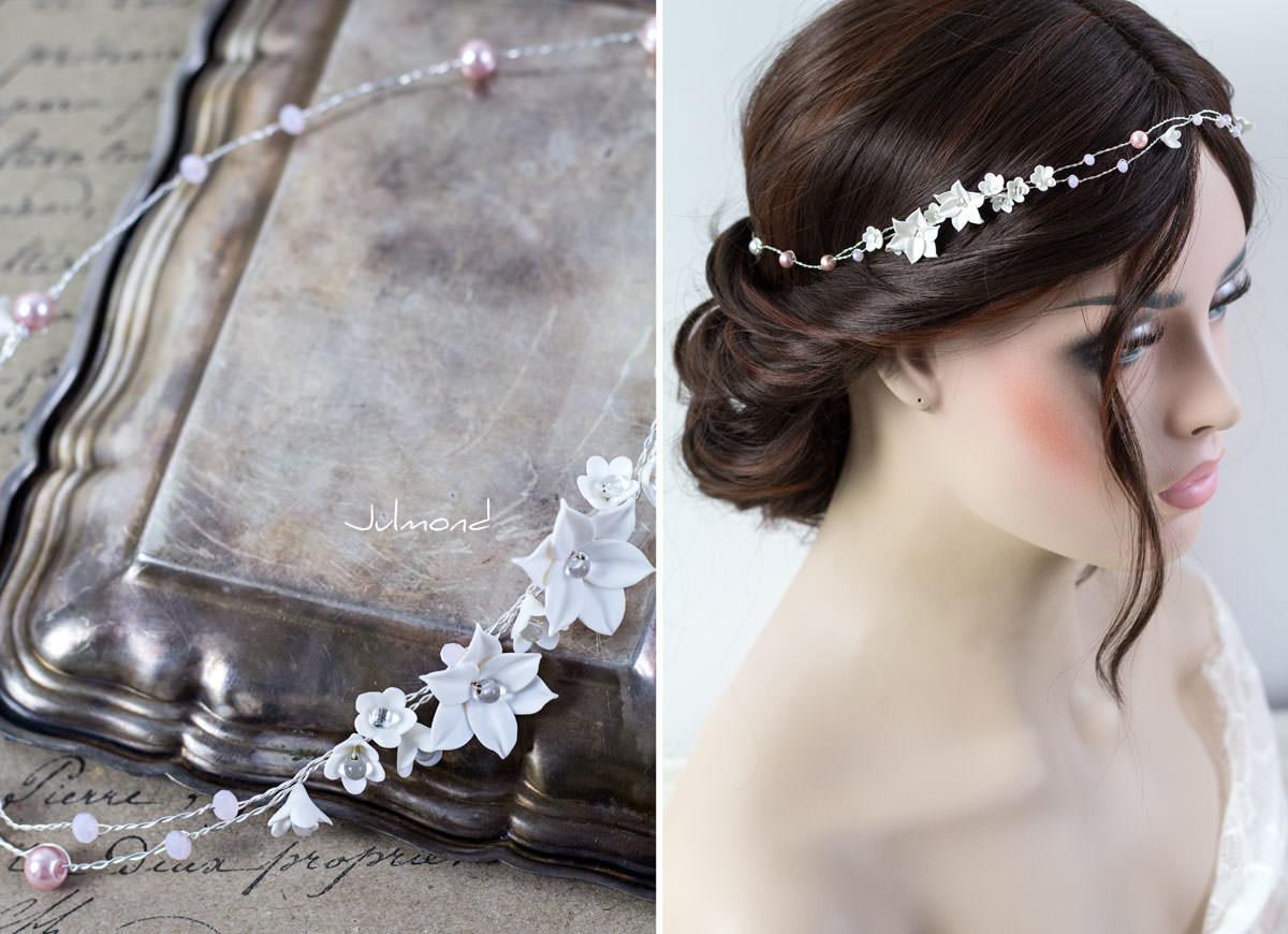 Diadem Hochzeit Perlen Elfe 02