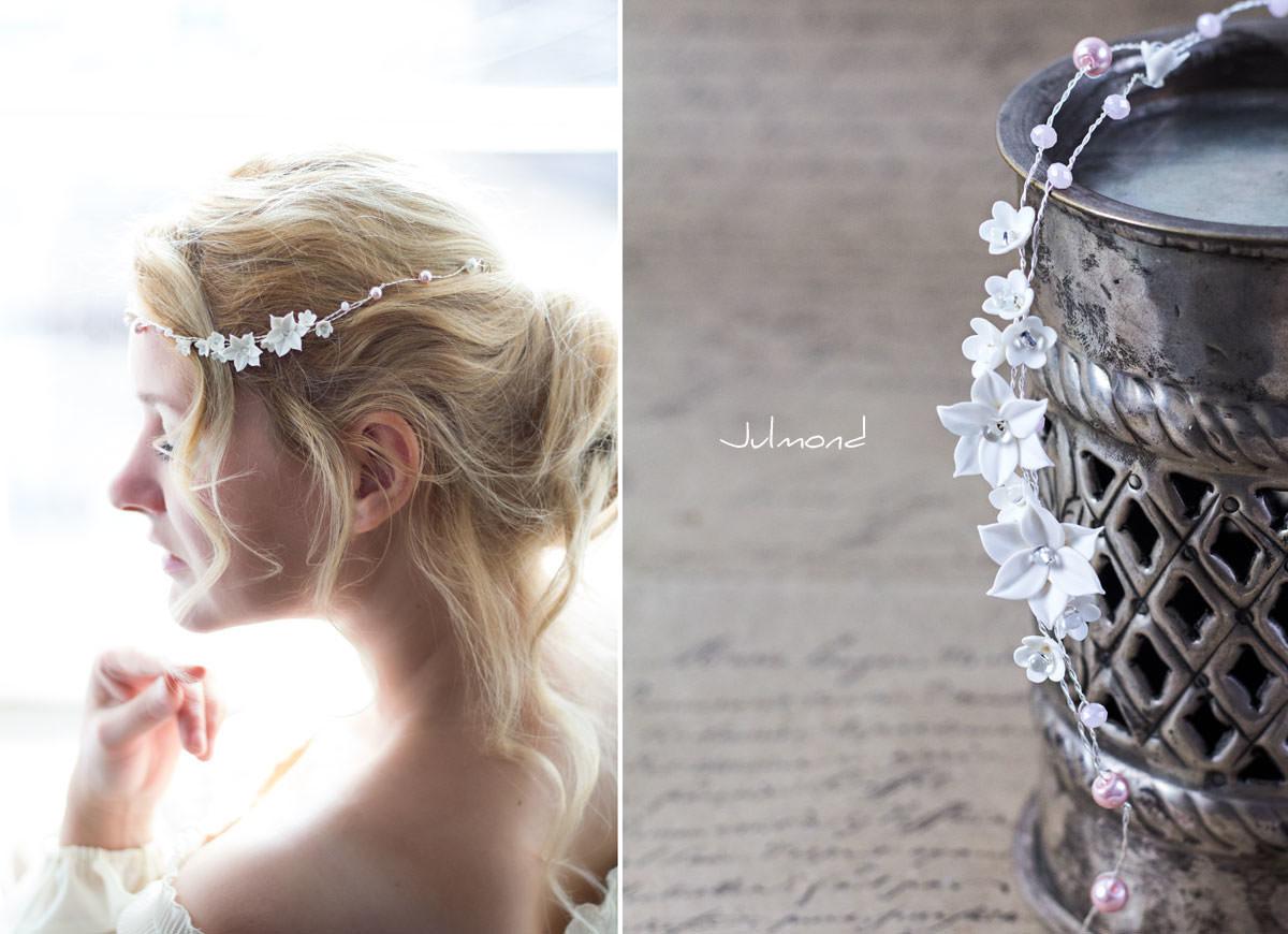 Diadem Hochzeit Perlen Elfe 03