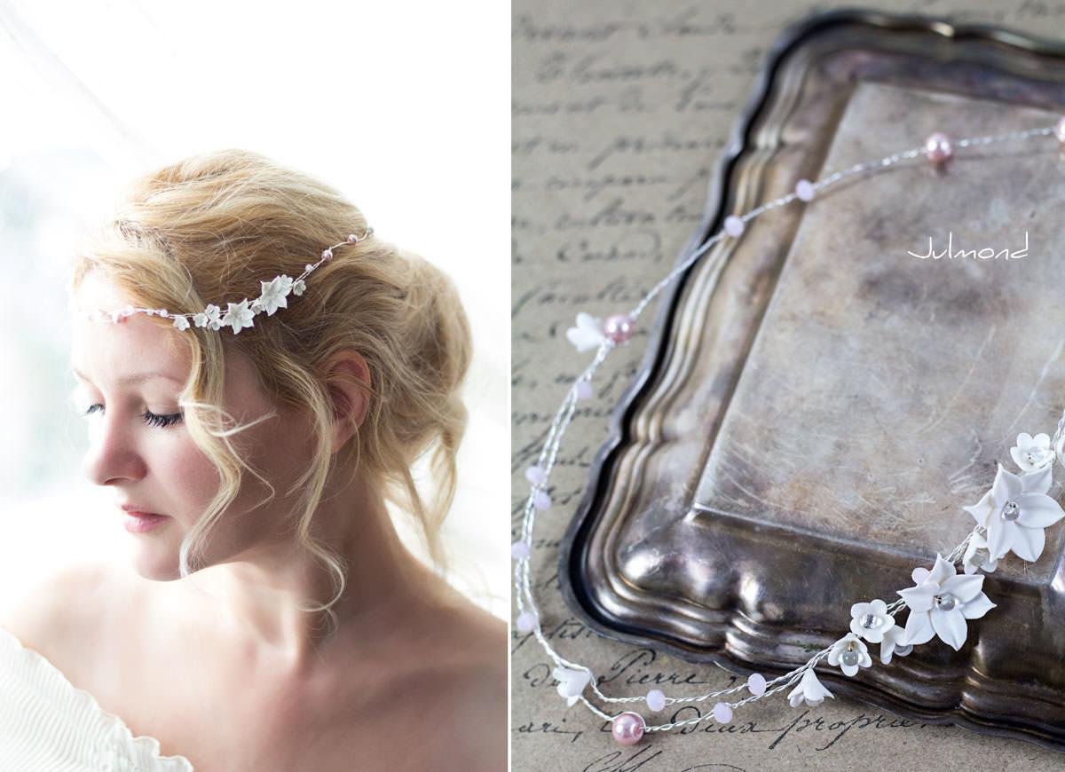 Diadem Hochzeit Perlen Elfe 04