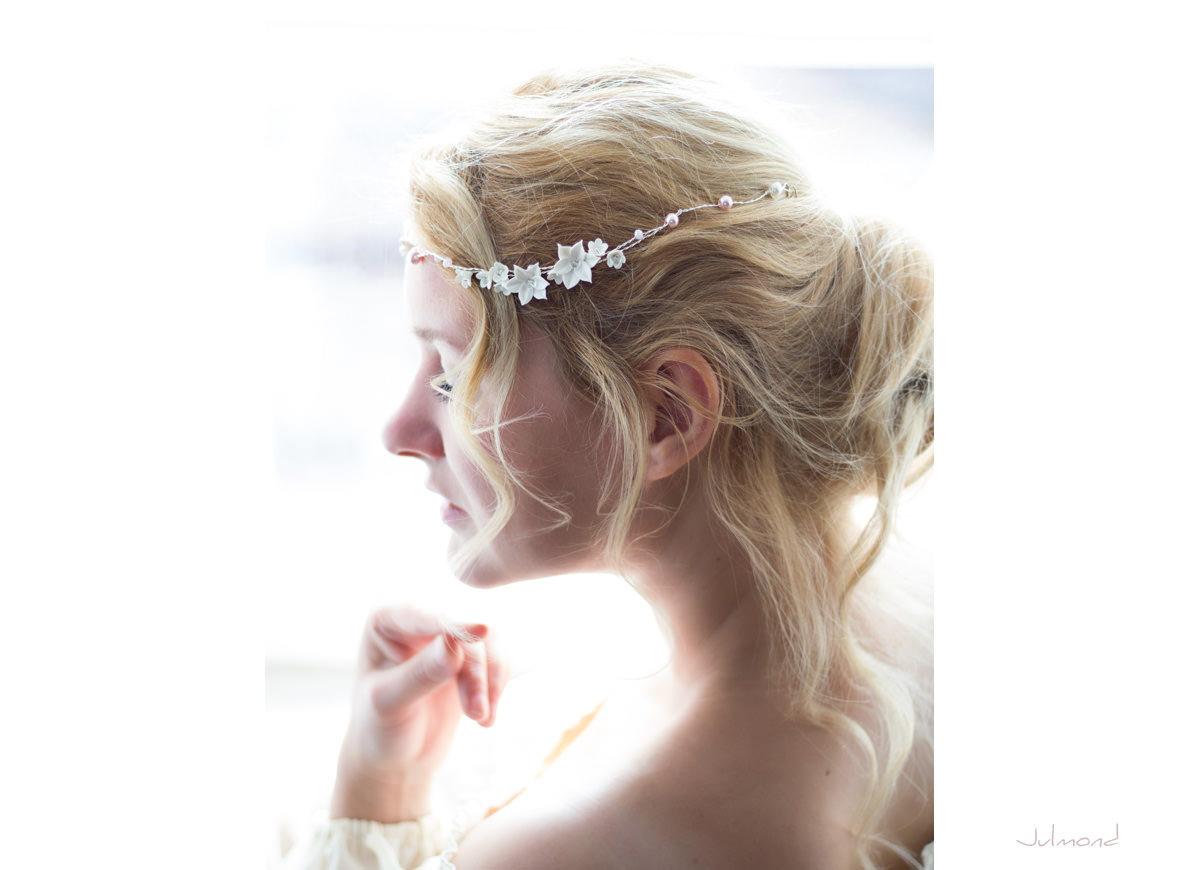 Diadem Hochzeit Perlen Elfe 06