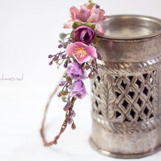 Dilek Haarschmuck Blumen Perlen Hochzeit Vintage-05