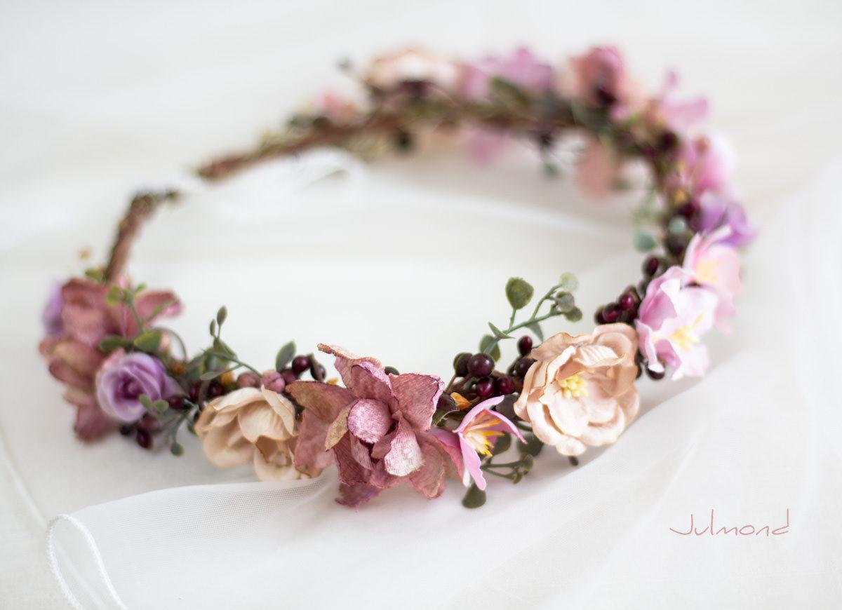 Djaka Blumenkranz Blumen Hochzeit-12