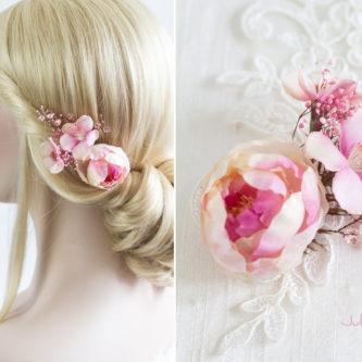 Elea II Haarblüte Dirndl Haarschmuck Brautblüte Hochzeit-05