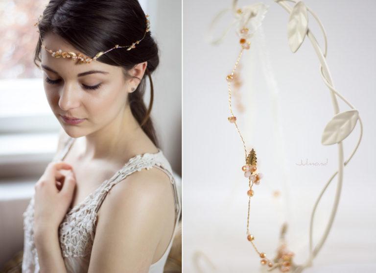 Evelia Haarschmuck Braut Diadem Rosegold-03