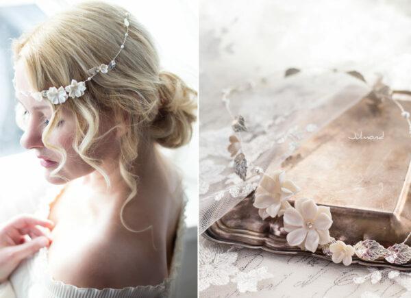 Fenja II Diadem Hochzeit Tiara Braut Ivory-02