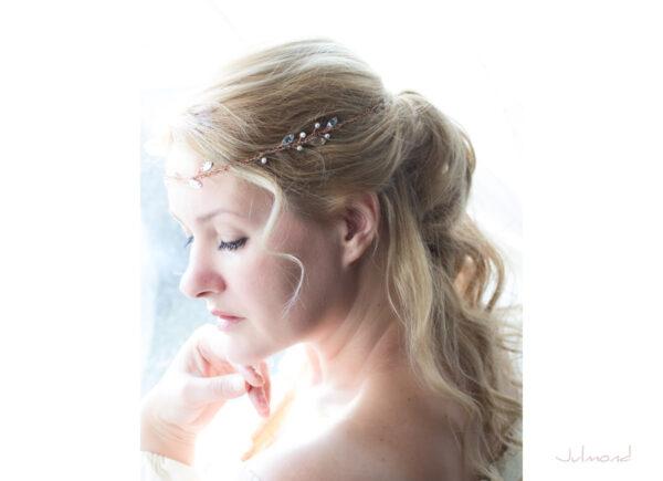 Gini Diadem Hochzeit Strass Rosegold Boho-07