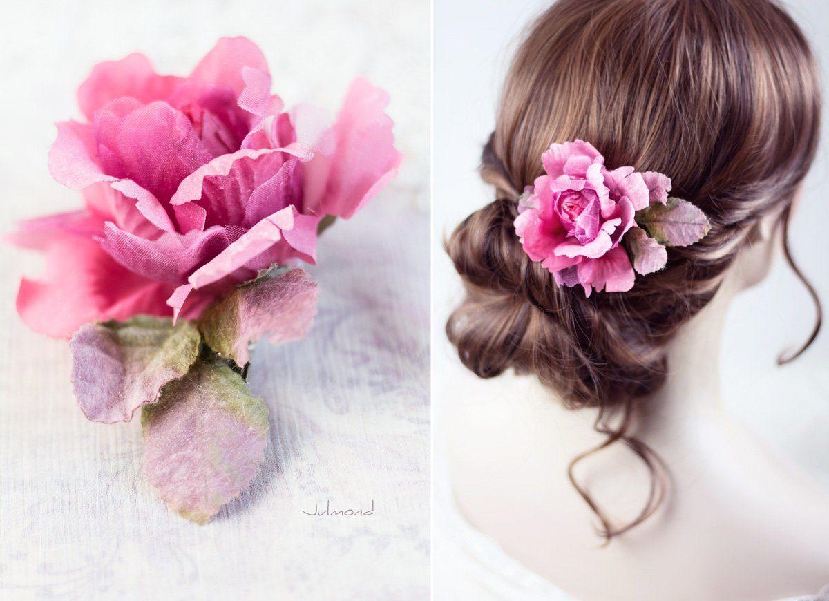 Jona II Haarblüte Blume Boho Braut Haarclip-01