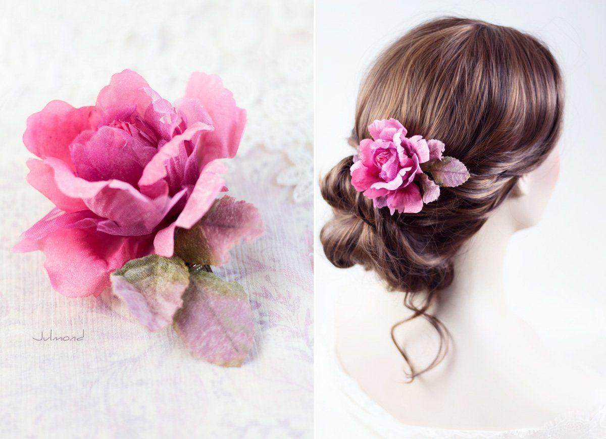 Jona II Haarblüte Blume Boho Braut Haarclip-02