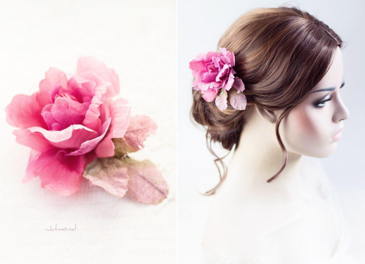 Jona II Haarblüte Blume Boho Braut Haarclip-04