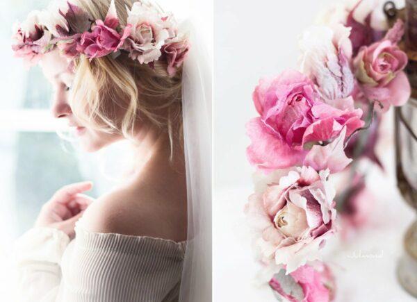 Juria Vintage Elfenkrone Blumenkranz Hochzeit-03