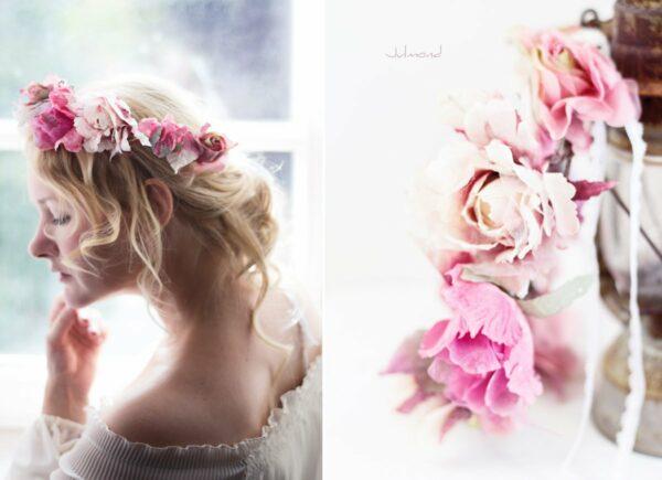 Juria Vintage Elfenkrone Blumenkranz Hochzeit-05