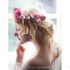 Juria Vintage Elfenkrone Blumenkranz Hochzeit-06