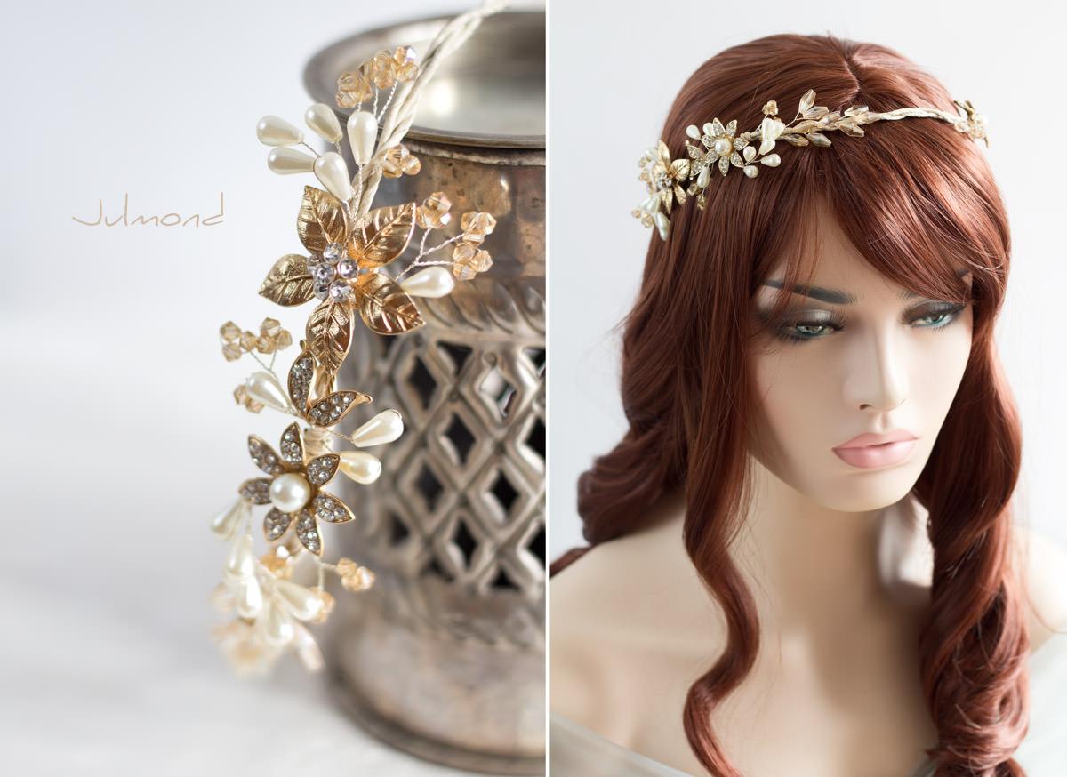 kyko haarband braut diadem perlen hochzeit boho 01 julmond. Black Bedroom Furniture Sets. Home Design Ideas
