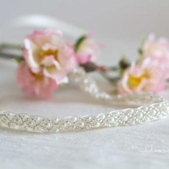 LaPerla Haarband Braut Perlen Hochzeit-01