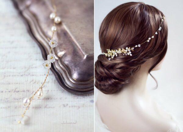 Leya Haarschmuck Echte Perlen Haarkamm Hochzeit-04