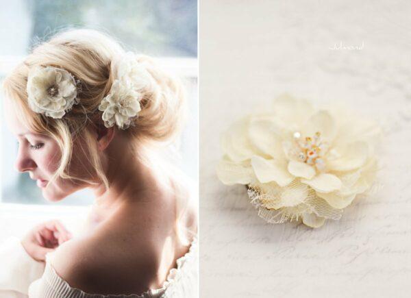 Malea Haarblume Shabby Spitze Hochzeit Braut-02
