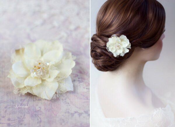 Malea Haarblume Shabby Spitze Hochzeit Braut-03