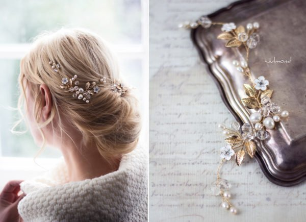 Maven Haarranke Diadem Hochzeit Perlen-01