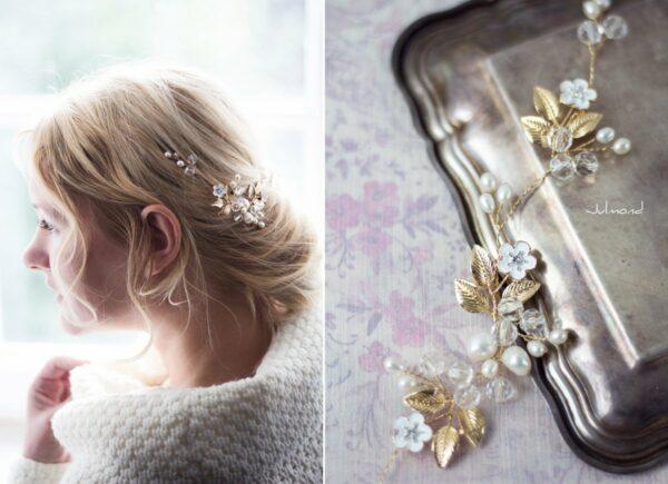 Maven Haarranke Diadem Hochzeit Perlen-02