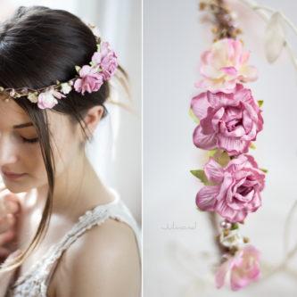 Maybritt Blumenkranz Haarband Blumen Hochzeit-08