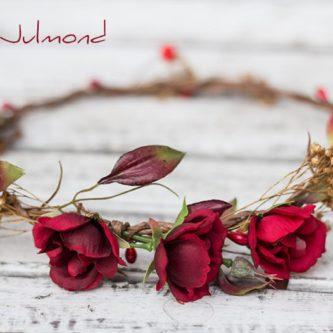 Rouge Haarband Haarbluete 02