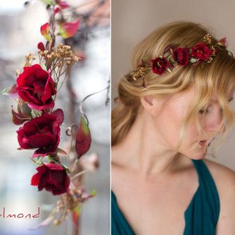 Rouge Haarband Haarbluete 08