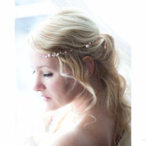 Victoria III Diadem Hochzeit Rosegold-06