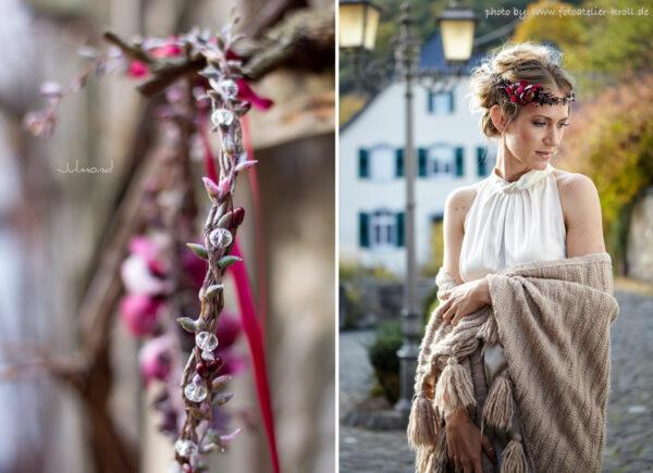 Alessia Winterhochzeit Haarschmuck Burgund-01