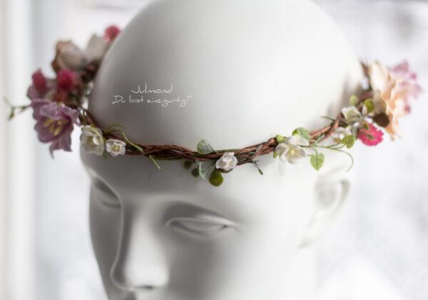 Amba Haarband Blumen Brautjungfer-04