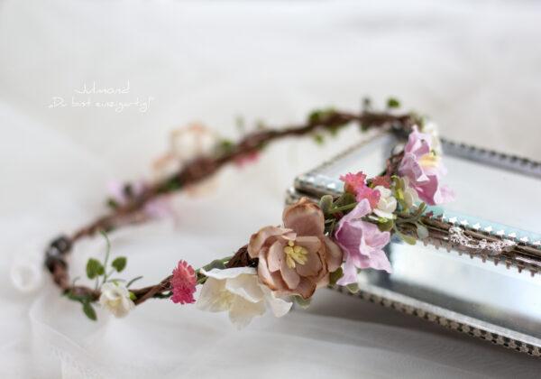 Amba Haarband Blumen Brautjungfer-06