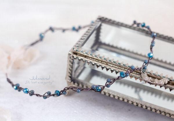Azula Haarschmuck Hochzeit Blau-02