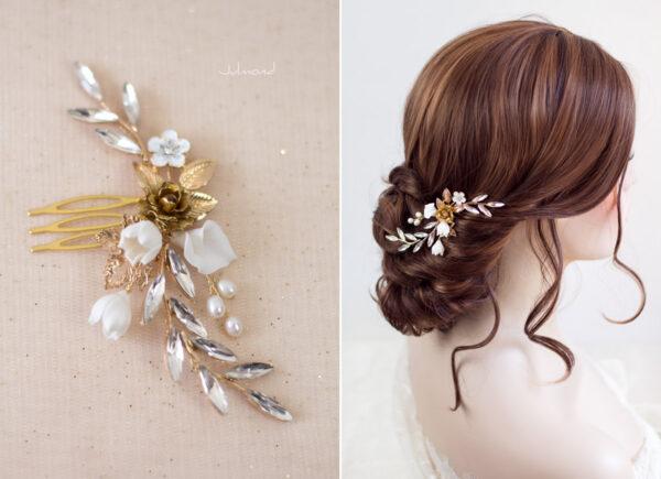 Candela II Braut Haarschmuck Perlen-02