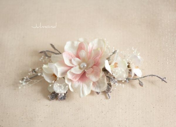 Chioma Haarblüte Braut Haarschmuck Blumen Haarclip-05