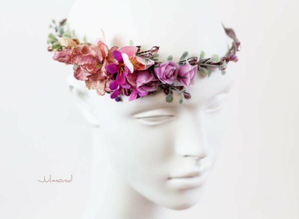 Dilek Haarschmuck Blumen Perlen Hochzeit Vintage-12