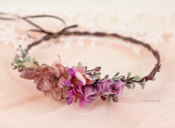 Dilek Haarschmuck Blumen Perlen Hochzeit Vintage-13