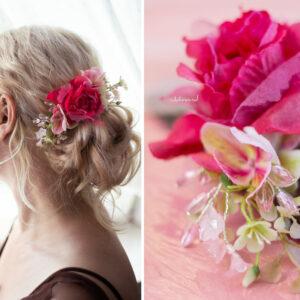 Elea II Haarbluete Dirndl Haarschmuck Brautbluete Hochzeit-06
