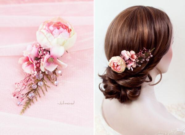 Elea II Haarblüte Dirndl Haarschmuck Brautblüte Hochzeit-12