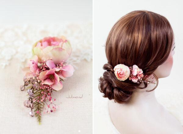 Elea II Haarblüte Dirndl Haarschmuck Brautblüte Hochzeit-13