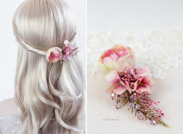 Elea II Haarblüte Dirndl Haarschmuck Brautblüte Hochzeit-15