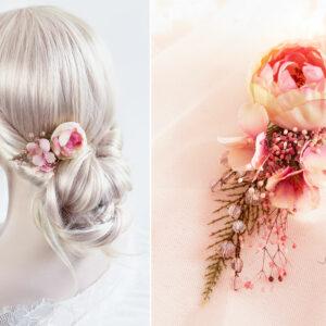 Elea II Haarblüte Dirndl Haarschmuck Brautblüte Hochzeit-16