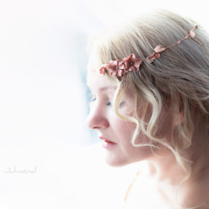 Fenja Diadem Hochzeit Tiara Braut Rosegold-14