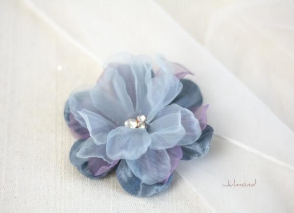 Florence Haarbluete blau-05