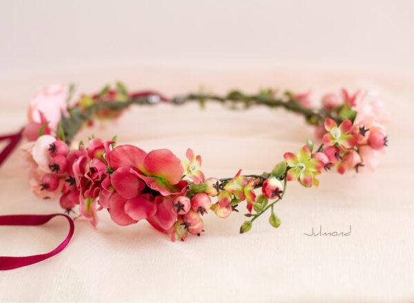 Florentine Haarband Blumen Oktoberfest Elfenkrone-03
