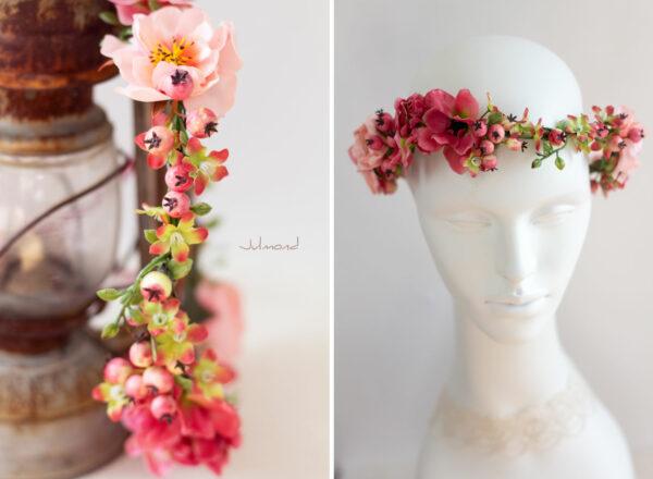 Florentine Haarband Blumen Oktoberfest Elfenkrone-04