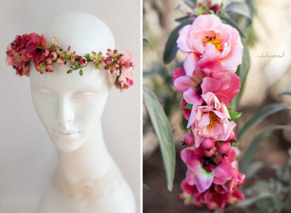 Florentine Haarband Blumen Oktoberfest Elfenkrone-05